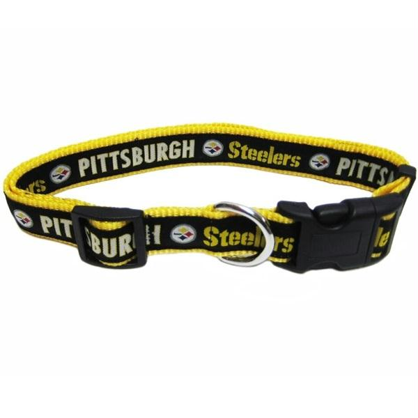 Pittsburgh Steelers Pet Collar - staygoldendoodle.com