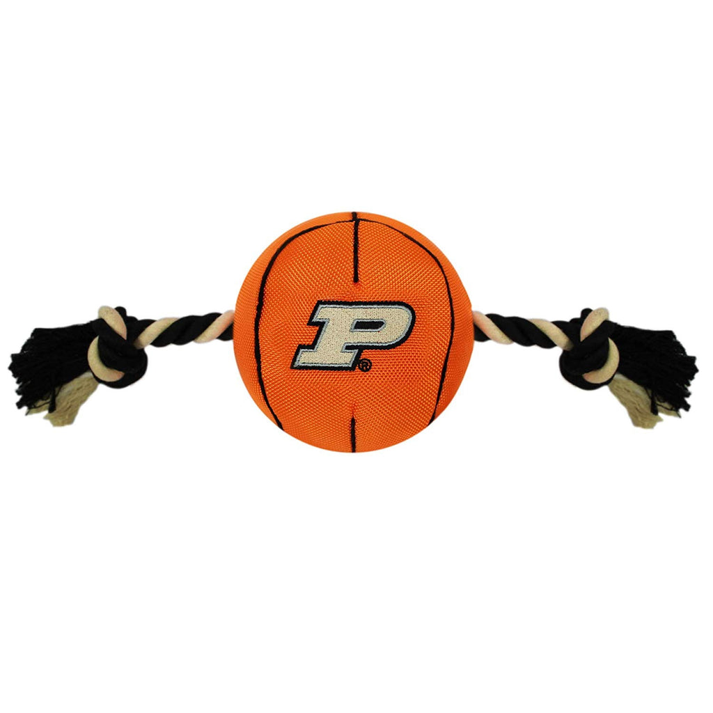 Purdue Boilermakers Pet Nylon Basketball - staygoldendoodle.com