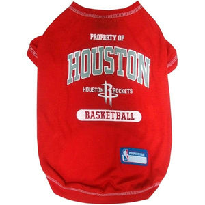 Houston Rockets Pet T-Shirt - staygoldendoodle.com