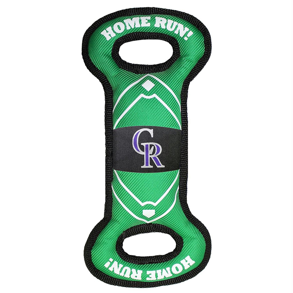 Colorado Rockies Field Pull Pet Toy - staygoldendoodle.com