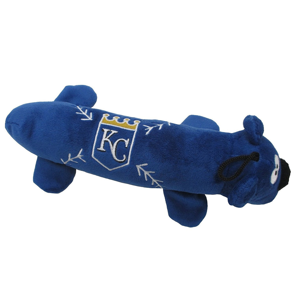 Kansas City Royals Plush Tube Pet Toy - staygoldendoodle.com