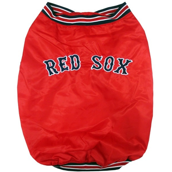 Boston Red Sox Pet Dugout Jacket - staygoldendoodle.com