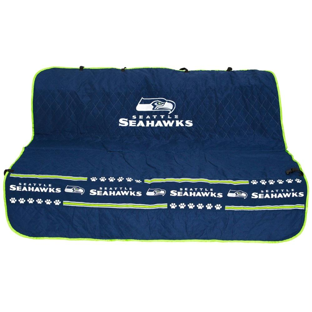 Seattle Seahawks Pet Car Seat Cover - staygoldendoodle.com