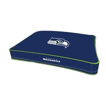Seattle Seahawks Pet Rectangle Bed - staygoldendoodle.com