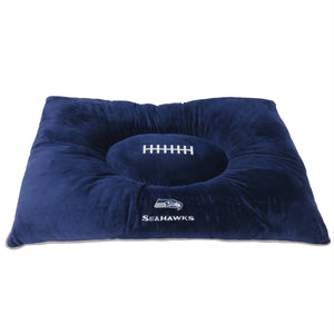 Seattle Seahawks Pet Pillow Bed - staygoldendoodle.com
