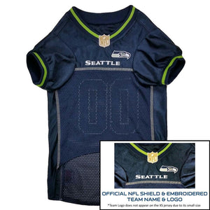 Seattle Seahawks Premium Pet Jersey - staygoldendoodle.com