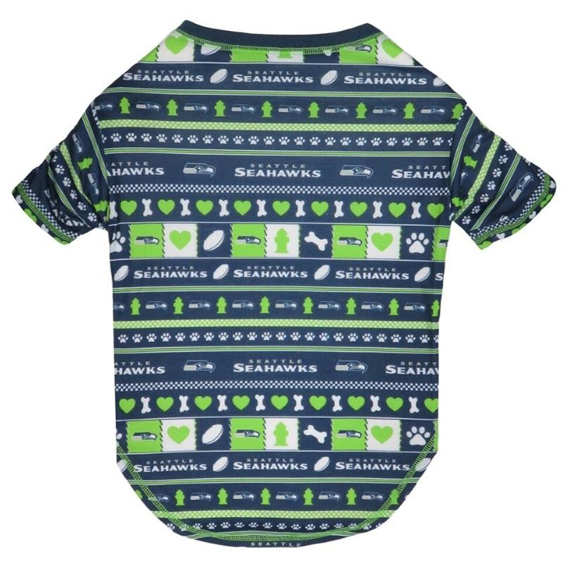 Seattle Seahawks Pet Novel-Tee - staygoldendoodle.com