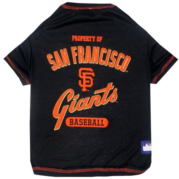 San Francisco Giants Pet T-Shirt - staygoldendoodle.com