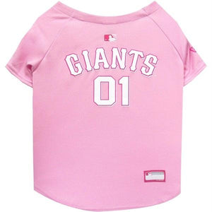 San Francisco Giants Pink Pet Jersey - staygoldendoodle.com