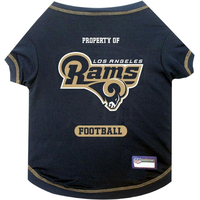 Los Angeles Rams Pet T-Shirt - staygoldendoodle.com