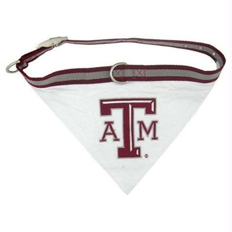 Texas A&M Dog Collar Bandana - staygoldendoodle.com