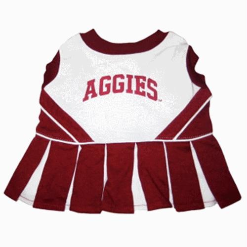 Texas A&M Cheerleader Dog Dress - staygoldendoodle.com
