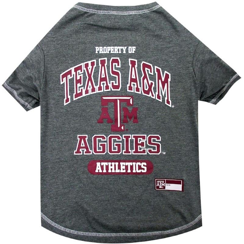 Texas A&M Aggies Pet T-Shirt - staygoldendoodle.com