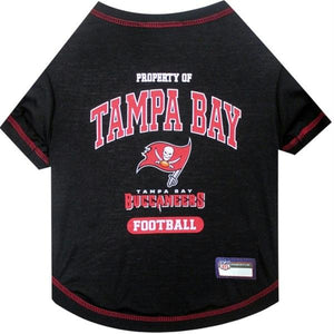 Tampa Bay Buccaneers Pet T-Shirt - staygoldendoodle.com