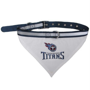 Tennessee Titans Pet Collar Bandana - staygoldendoodle.com