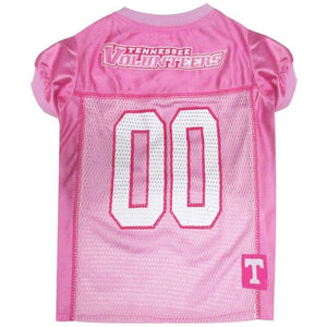 Tennessee Volunteers Pink Pet Jersey - staygoldendoodle.com