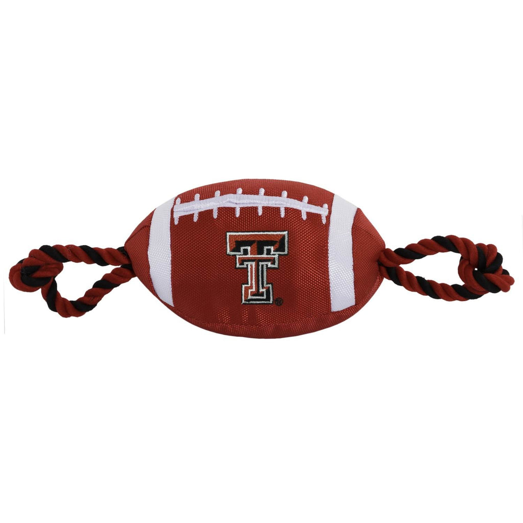 Texas Tech Red Raiders Pet Nylon Football - staygoldendoodle.com