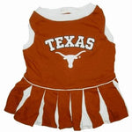 Texas Longhorns Cheerleader Dog Dress - staygoldendoodle.com