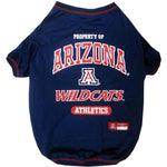Arizona Wildcats Pet T-Shirt - staygoldendoodle.com