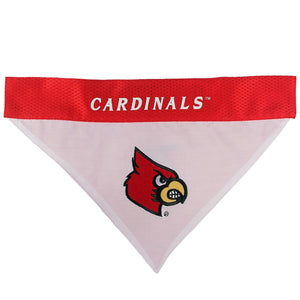 Louisville Cardinals Pet Reversible Bandana - staygoldendoodle.com