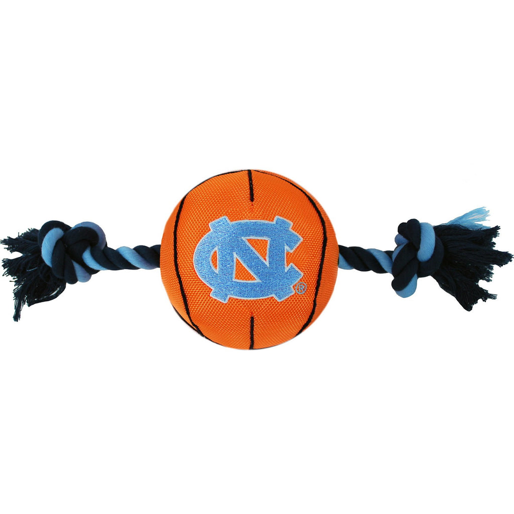 North Carolina Tarheels Pet Nylon Basketball - staygoldendoodle.com