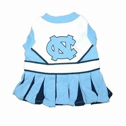 North Carolina Tarheels Cheerleader Dog Dress - staygoldendoodle.com