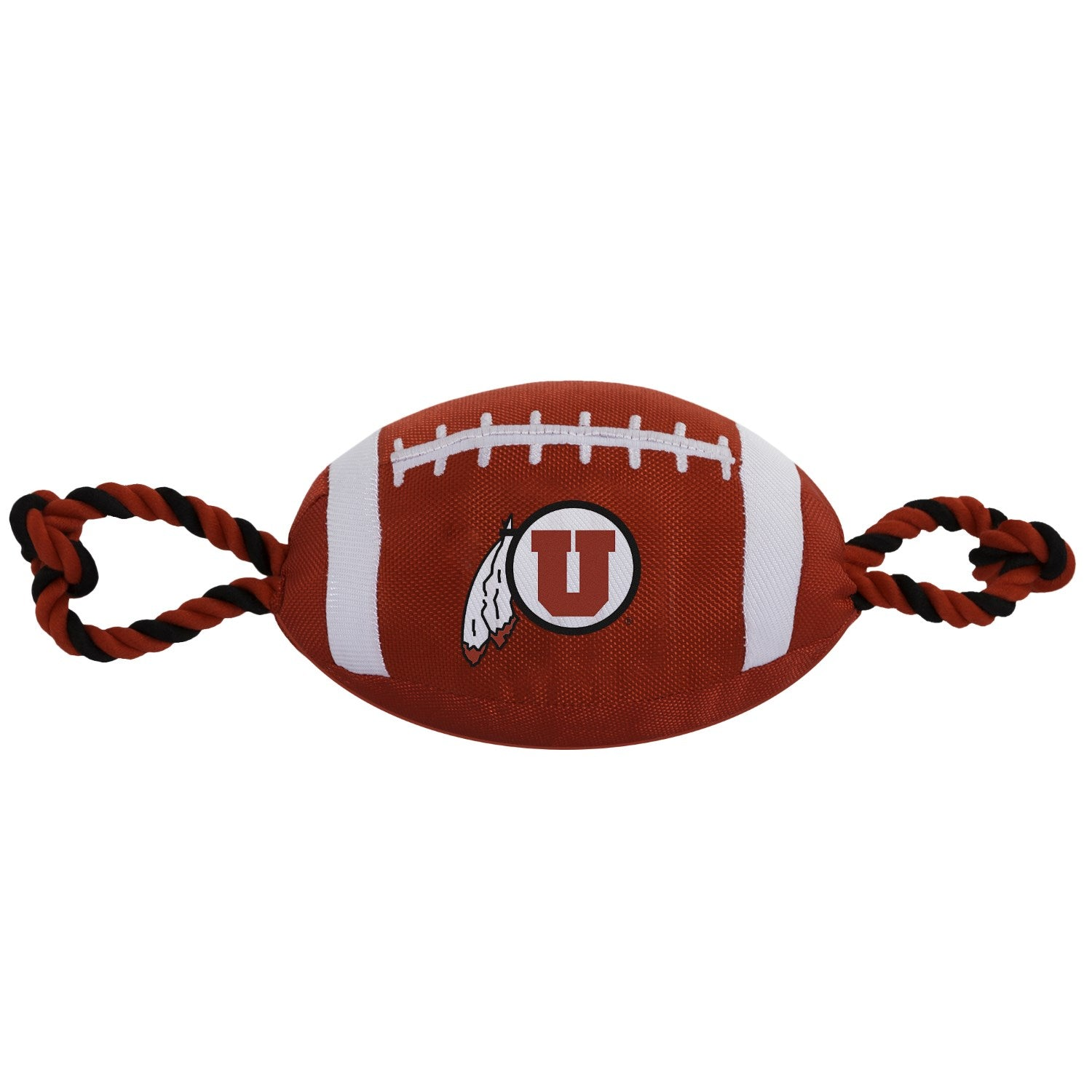 Utah Utes Pet Nylon Football - staygoldendoodle.com