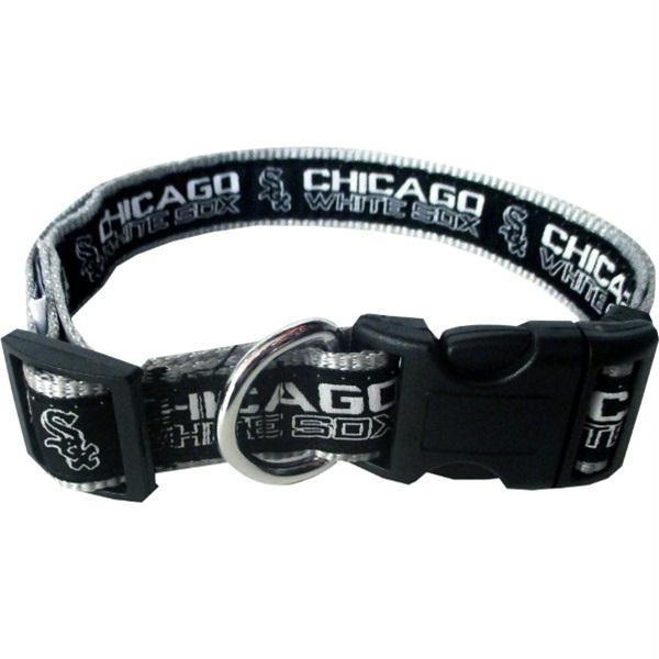 Chicago White Sox Pet Collar by Pets First - staygoldendoodle.com
