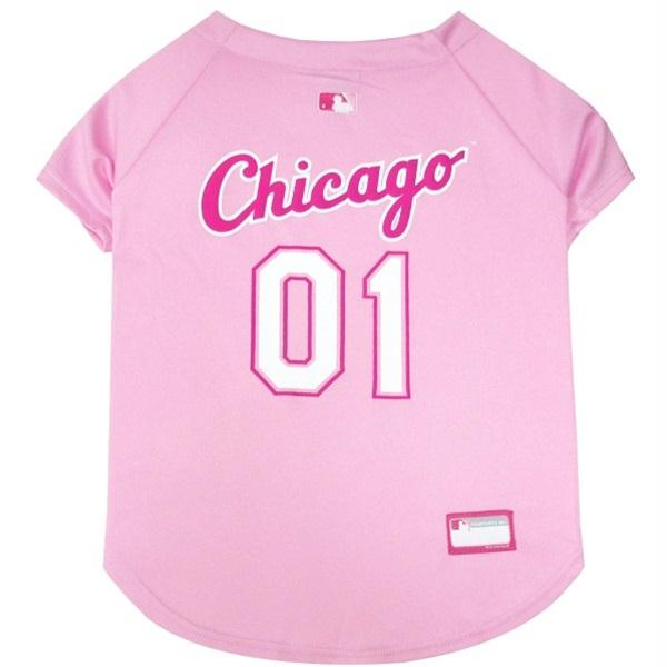 Chicago White Sox Pink Pet Jersey - staygoldendoodle.com