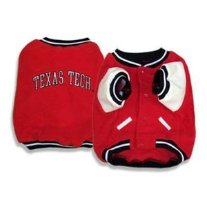 Texas Tech Red Raiders Pet Varsity Jacket - staygoldendoodle.com
