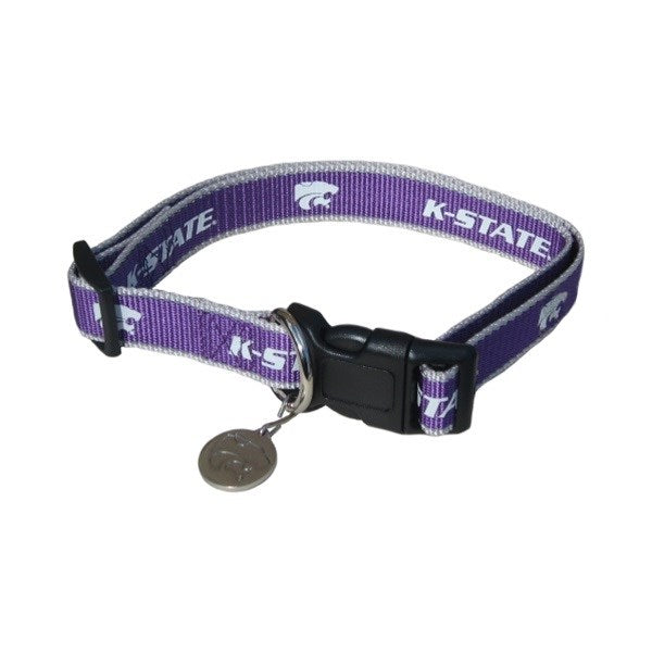Kansas State Reflective Pet Collar - staygoldendoodle.com