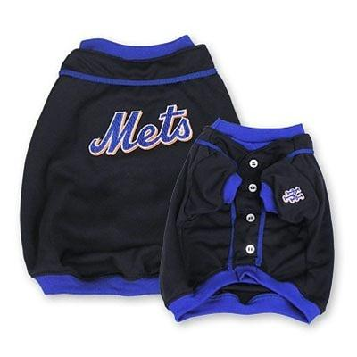 New York Mets Alternate Style Dog Jersey - staygoldendoodle.com