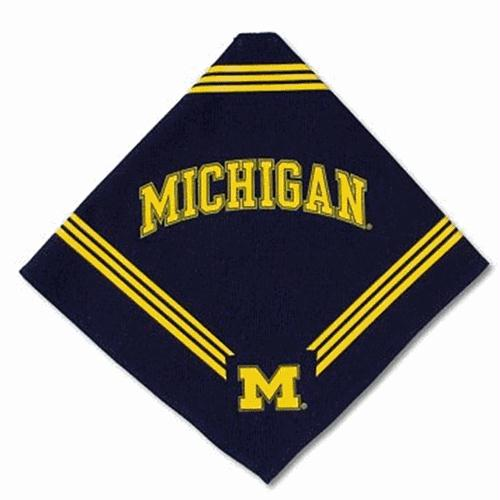 Michigan Wolverines Dog Bandana - staygoldendoodle.com