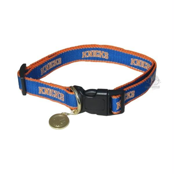 New York Knicks Reflective Pet Collar - staygoldendoodle.com