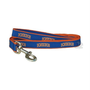 New York Knicks Reflective Pet Leash - staygoldendoodle.com