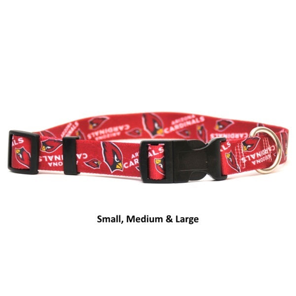 Arizona Cardinals Nylon Collar - staygoldendoodle.com