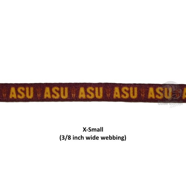 Arizona State Nylon Leash - staygoldendoodle.com