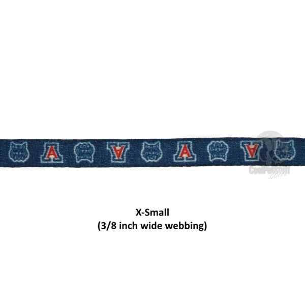 Arizona Wildcats Nylon Collar - staygoldendoodle.com