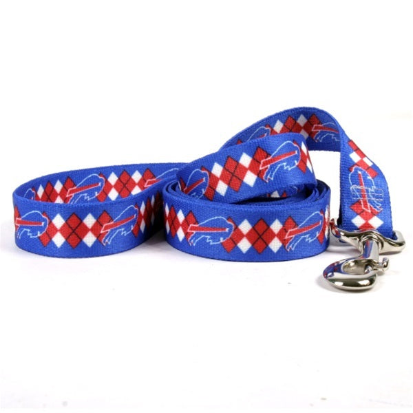 Buffalo Bills Argyle Nylon Leash - staygoldendoodle.com