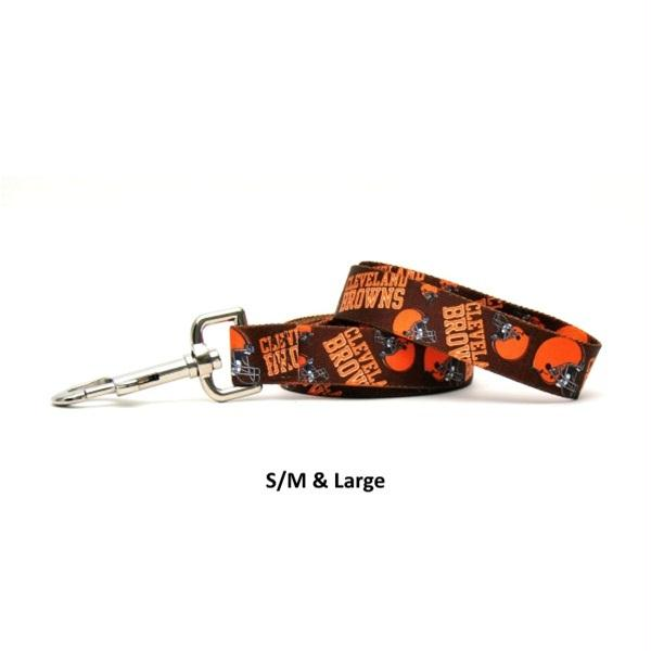 Cleveland Browns Nylon Leash - staygoldendoodle.com