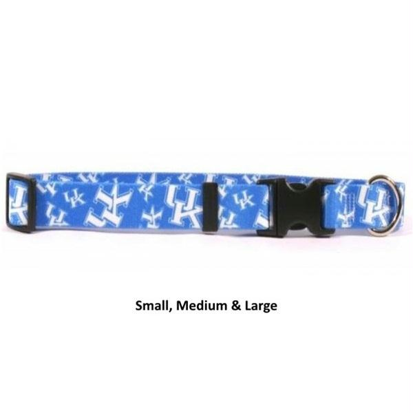 Kentucky Wildcats Nylon Collar - staygoldendoodle.com