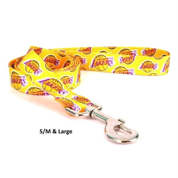 Los Angeles Lakers Nylon Leash - staygoldendoodle.com