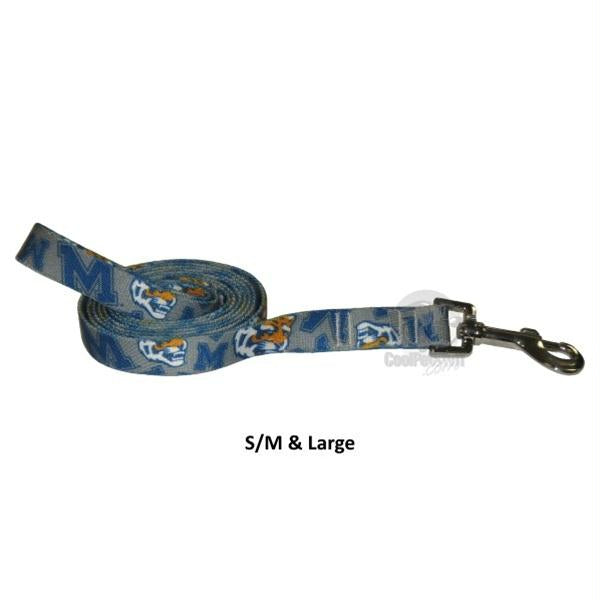 Memphis Tigers Nylon Leash - staygoldendoodle.com
