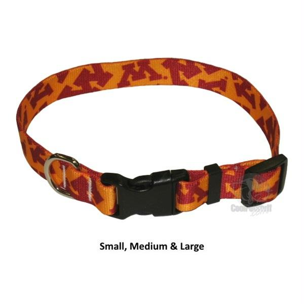 Minnesota Golden Gophers Nylon Collar - staygoldendoodle.com