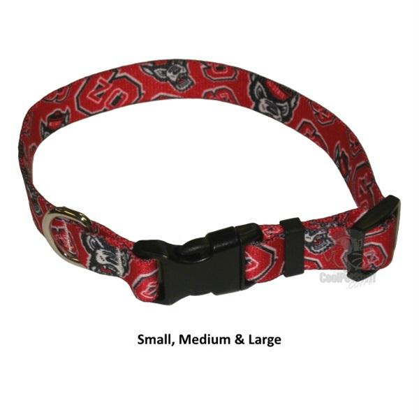 NC State Wolfpack Nylon Collar - staygoldendoodle.com