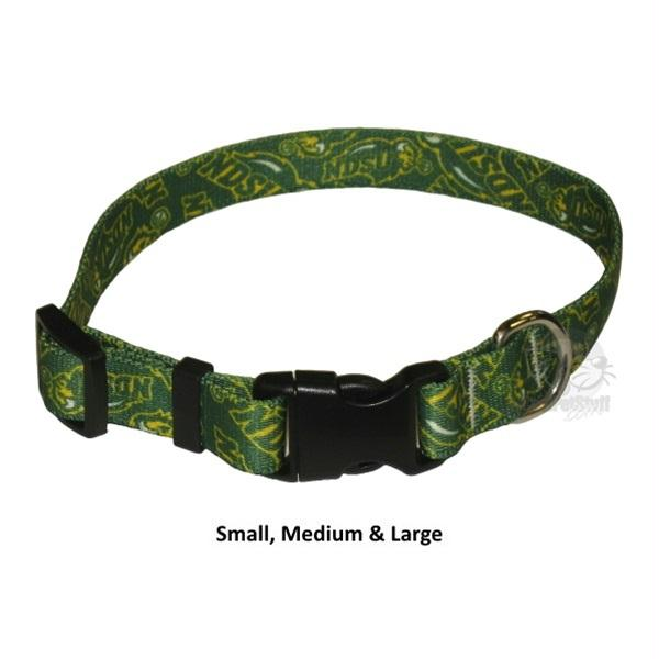 North Dakota State Bison Nylon Collar - staygoldendoodle.com