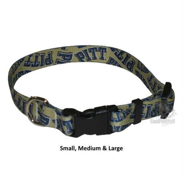 Pittsburgh Panthers Nylon Collar - staygoldendoodle.com