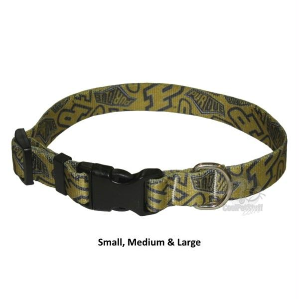 Purdue Boilermakers Nylon Collar - staygoldendoodle.com