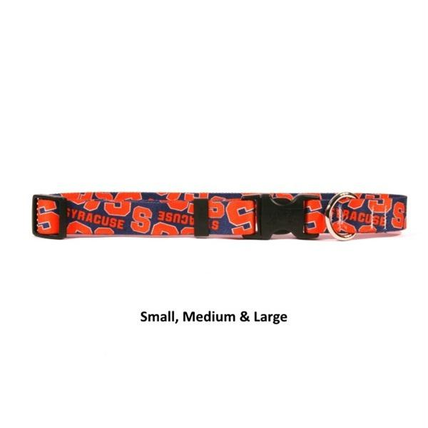 Syracuse Orange Nylon Collar - staygoldendoodle.com
