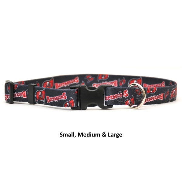 Tampa Bay Buccaneers Nylon Collar - staygoldendoodle.com